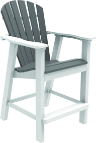Adirondack Shellback Balcony Chair - (017