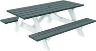 Seaside Traditional Picnic Table  - (043