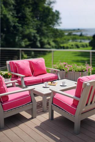 Nantucket Love Seat Seaside Casual Furniture