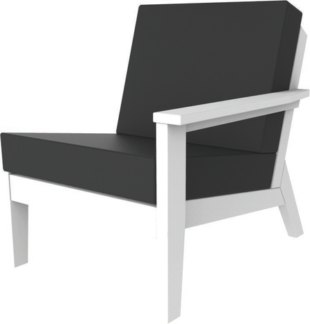 Dex Modular Lounge Chair Left As Sitting Seaside