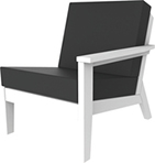 Related - DEX Modular Lounge Chair Left (as sitting)