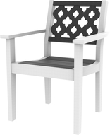 Greenwich Dining Arm Chair Provencal Back Style - (602P