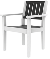 Greenwich Dining Arm Chair Slatted Back Style - (602S